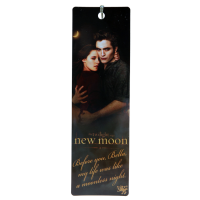 The Twilight Saga: New Moon - Bookmark Moonless Quote Edward and Bella
