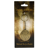 The Twilight Saga: New Moon - Keychain Metal Tribe Tattoo Art