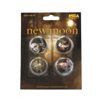 The Twilight Saga: New Moon - Pin Set Of 4 Edward