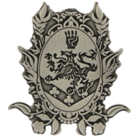 The Twilight Saga: New Moon - Keychain Metal Cullen Crest