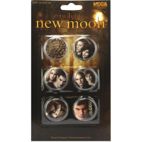The Twilight Saga: New Moon - Pin Set of 6 Jacob and the Cullens