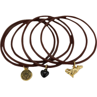 The Twilight Saga: New Moon - Jewellery Jelly Bangle with Charms Wolf