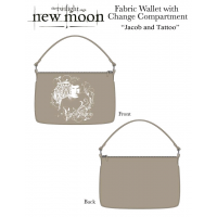 The Twilight Saga: New Moon - Purse Fabric Change Jacob and Tattoo