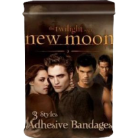 The Twilight Saga: New Moon - Adhesive Bandages in Tin Swirly Crests