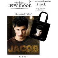 The Twilight Saga: New Moon - Tote and Fleece 2-Pack Jacob Tattoo