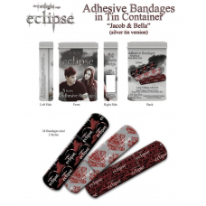 The Twilight Saga: Eclipse - Adhesive Bandages in Tin Jacob and Bella S