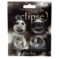 The Twilight Saga: Eclipse - Pin Set Of 4 Misc Pack