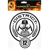 The Hunger Games - Laptop Decals District 12