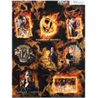 The Hunger Games - Sticker Set 8 Piece