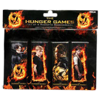 The Hunger Games - Magnetic Bookmarks (Set of 4)