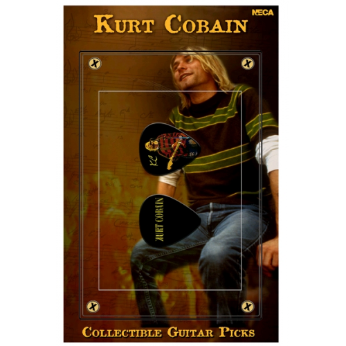 Kurt Cobain - Guitar Pick #1 (Kurt in Red Sweater)