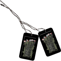 Kurt Cobain - Dog Tags Set 2 (Smells Like Teen Spirit)