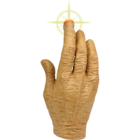 E.T. The Extra Terrestrial - LED Light Up Hand Prop Replica