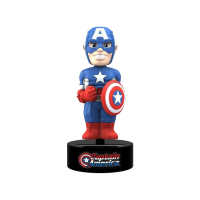 Captain America - Captain America 6 inch Solar Powered Body Knocker