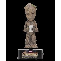 Avengers 3: Infinity War - Groot 6 Inch Solar Powered Body Knocker
