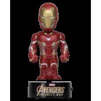 Avengers 3: Infinity War - Iron Man 6 Inch Solar Powered Body Knocker