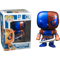 Batman - New 52 Deathstroke Metallic Pop! Vinyl Figure