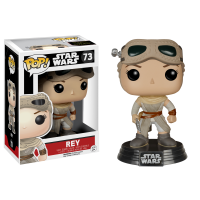 Star Wars Episode VII: The Force Awakens - Rey with Helmet Pop! Vinyl Figure