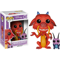 Mulan - Mushu and Cricket Pop! Vinyl Figure