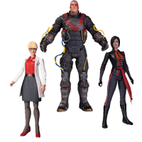 Batman: Arkham Origins - The Electrocutioner, Dr. Harleen Quinzel and Lady Shiva 7 Inch Action Figure 3-Pack Box Set