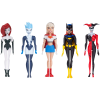 DC Comics - Girl's Night Out 6 Inch Action Figures (Set of 5)