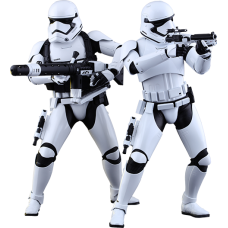 Star Wars Episode VII: The Force Awakens - First Order Stormtrooper 1/6th Scale Hot Toys Action Figure (Set of 2)