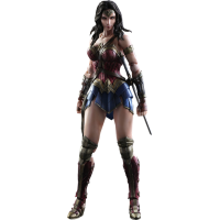 Batman vs Superman: Dawn of Justice - Wonder Woman Play Arts Kai 10 Inch Action Figure