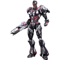Justice League - Cyborg Play Arts Figure