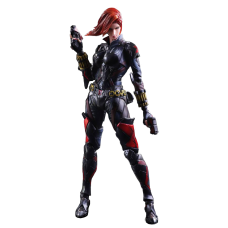 Avengers - Black Widow Variant Play Arts Kai 10 Inch Action Figure
