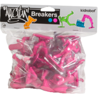 All City Breakers - 2 Vinyl Electric Pink Blind Box Display (20 units)