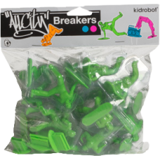 All City Breakers - 2 Vinyl Electric Green 20 Pack