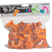 All City Breakers - 2 Vinyl Electric Orange 20 Pack