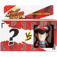 Street Fighter - M. Bison 3 Inch Vinyl Figure 2-Pack