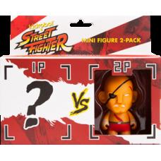 Street Fighter - Sagat 3 Inch Vinyl Figure 2-Pack