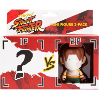 Street Fighter - Vega 3 Inch Vinyl Figure 2-Pack