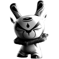 Dunny - 8 inch The Hunted Dunny by colus