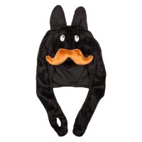 Frank Kozik - Stache Labbit Plush Hat Black