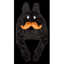 Frank Kozik - Stache Labbit Plush Hat Black
