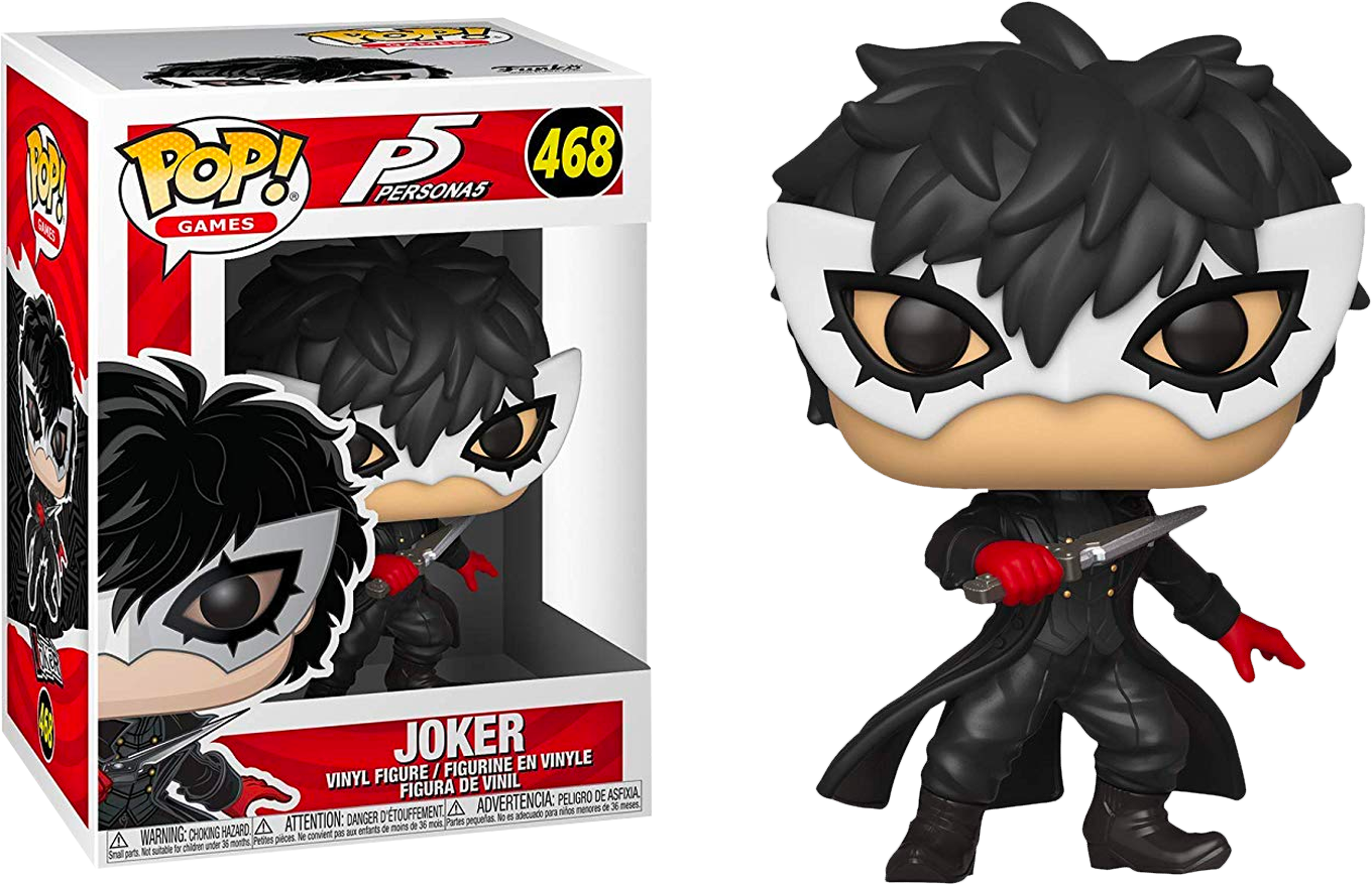 Persona 5 The Joker Pop Vinyl Figure