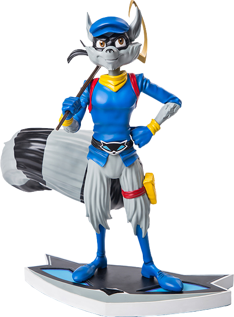 Sly Cooper Stuffed Animal, Sly 3 Honor Among Thieves Sly Cooper 1 6th Scale Statue