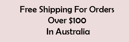 Free Shipping over $100 in Australia